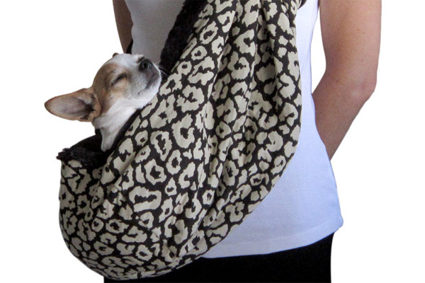 Paws 4 Peace leopard sling
