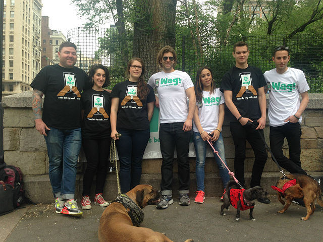 On-Demand Dog-Walking Service Wag! Throws Big Party to