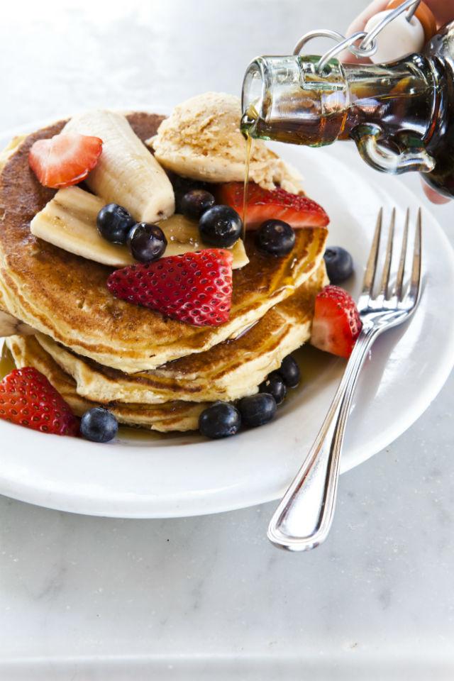 five leaves pancakes