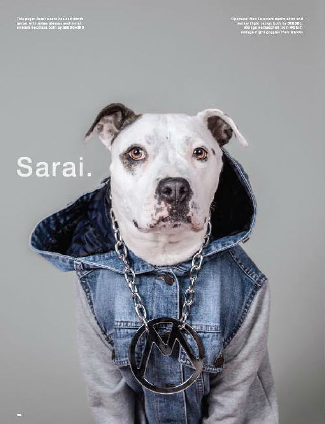 LOVe magazine Sarai