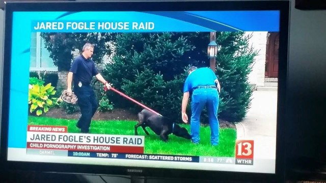 Jared Fogle Raid and Bear