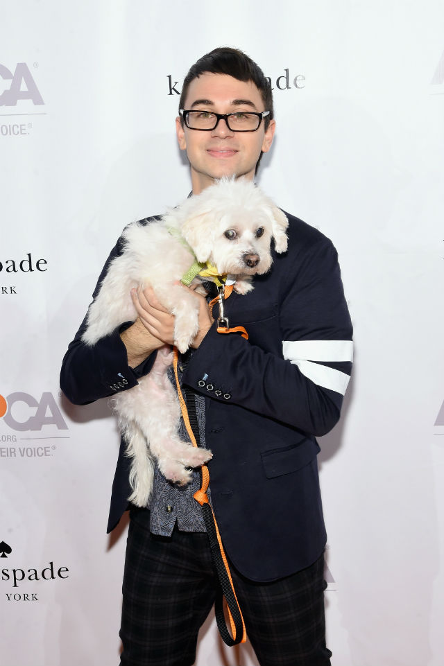 Christian Siriano at Young Friends Benefit. Image Credit Getty
