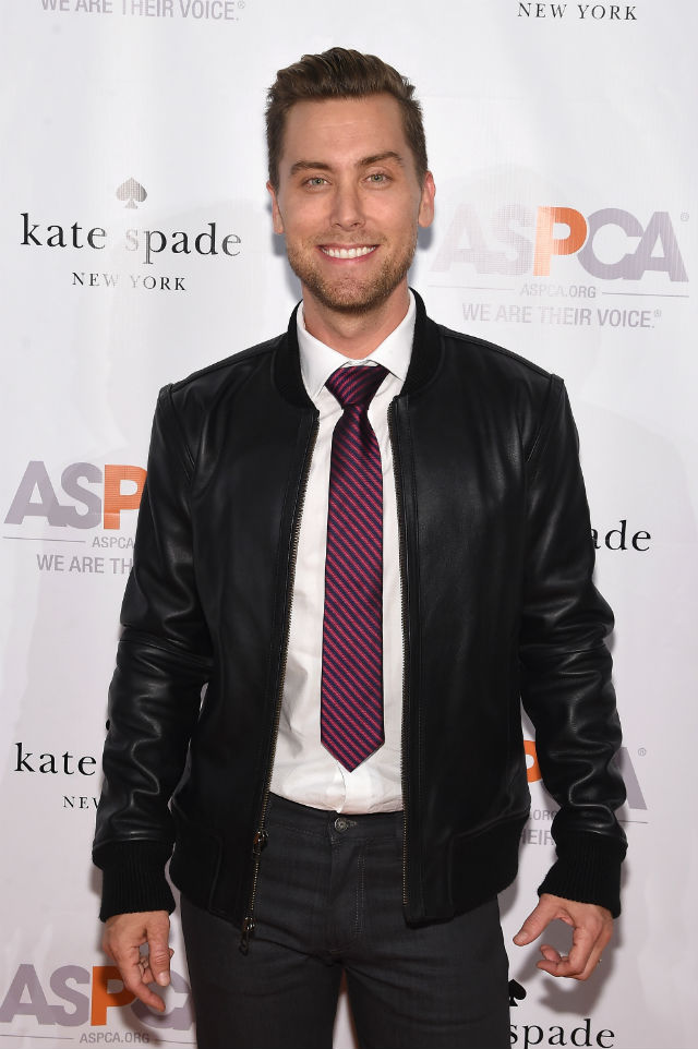 Lance Bass at Young Friends Benefit. Getty Images