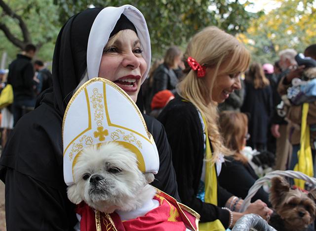 The pope. Image via Geoffrey Woodcock.