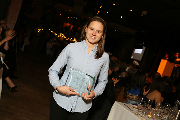 Honoree Carly Strife of BarkBox. Photo Credit: Jason Howard Photography