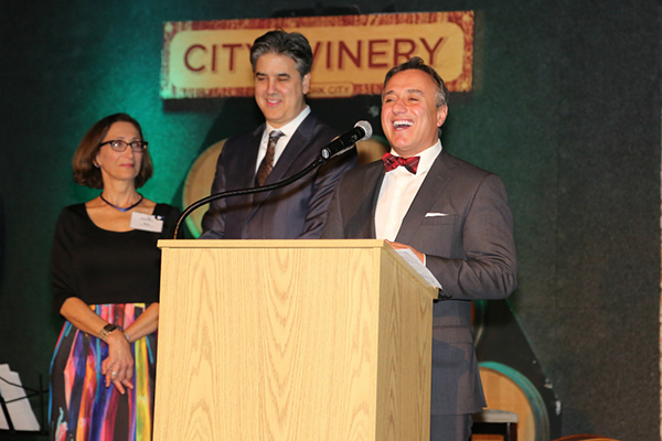 AC&C Executive Director Risa Weinstock with honorees Jeff Wolk and Rob Anzalone of FENWICK KEATS Real Estate. Photo Credit: Jason Howard