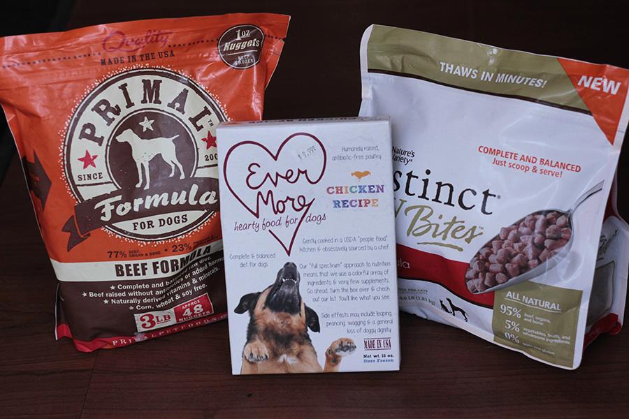 Bushwick Bark three bags of dog food resized