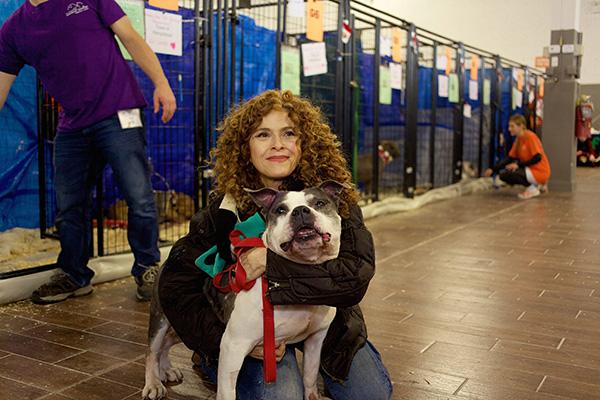 Bernadette Peters. Photo Credit Best Friends Animal Society.
