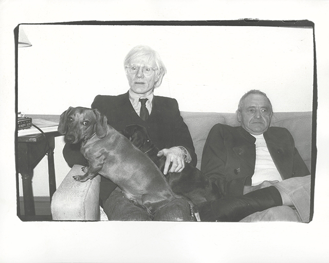 Warhol, Archie, Amos and an Unidentified Man from 1980. Starting bid 1980. Christie's Image LTD. 2015