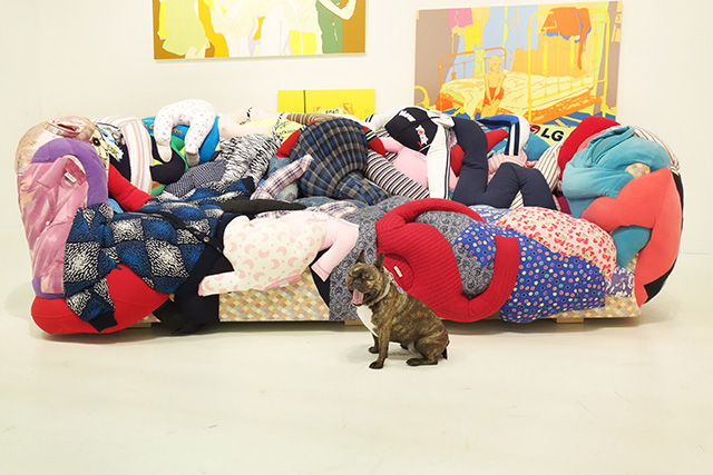 Eleven Rivington, Booth 815, at The Armory Show. Image Credit Katie Howard