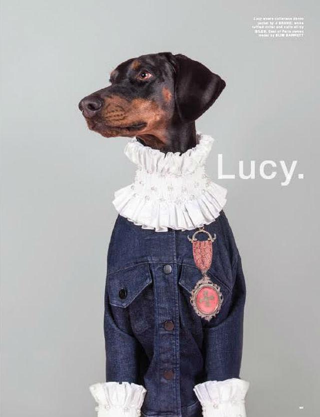 LOVe magazine Lucy